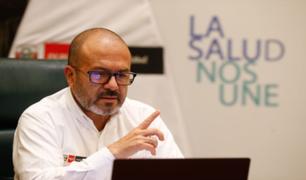 Víctor Zamora señaló que la crisis política complicó el proceso de obtención de vacunas