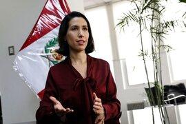 """Claudia Cornejo: """"Esperamos tener cronograma de vacunas COVID-19 cuanto antes"""""""