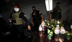 Covid-19: se registra balacera durante fiesta clandestina en San Juan de Lurigancho