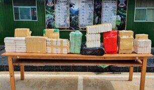 Junín: incautan más de 100 kilos de clorhidrato de cocaína