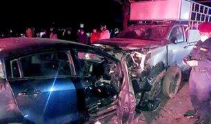 Lambayeque: tres personas fallecieron en accidente vehicular a vísperas de Navidad