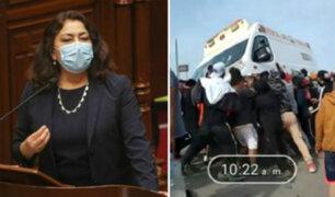 Premier sobre ambulancia quemada en Ica: es un atentado a la salud en plena pandemia