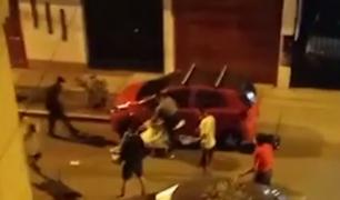 Surco: vecinos denuncian que hombre fue agredido brutalmente por 10 sujetos