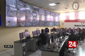 Cámaras de Ate ahora están interconectadas con Central de Emergencia de la PNP