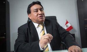 José Luna Gálvez: Poder Judicial evalúa hoy si dicta prisión preventiva en su contra