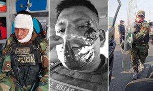 Reportan al menos 26 policías heridos durante disturbios en La Libertad e Ica