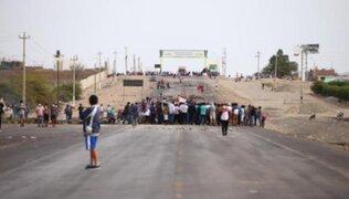 Protestas en Ica: ministro del Interior informa que Panamericana Sur ya está liberada