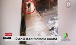 Balacera entre peligrosas bandas dejó a una persona herida en el Callao