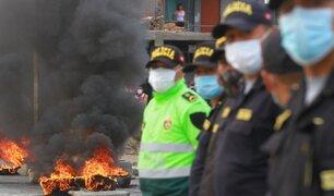 Paro Agrario: PNP resguarda vía Panamericana Sur para evitar bloqueos