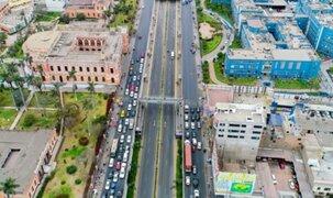 Vía Expresa Grau: autos solo podrán circular por el carril izquierdo desde hoy
