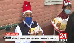 Empresas se unen para dar felicidad a los ancianitos esta Navidad