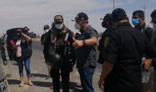 Ministro del Interior: 1300 policías pasarán la Navidad resguardando la Panamericana Sur