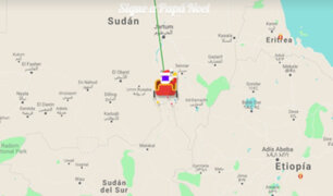 Papá Noel EN VIVO: sigue aquí su recorrido en tiempo real alrededor del mundo