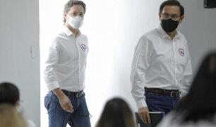 Somos Perú implementa medidas sanitarias durante campaña electoral