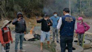 Protestas en Ica: 15 detenidos serán investigados por presunto delito de disturbios