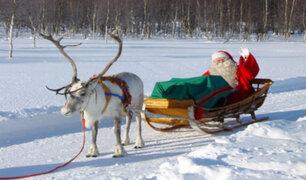 OMS informa que Papá Noel es inmune a la COVID-19