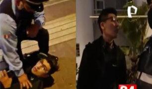 Miraflores: Multaron con 4300 soles a joven que denigró y escupió a fiscalizador que lo intervino