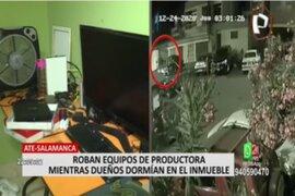 Ate: asaltan productora y se llevan modernos equipos y 40 mil soles en efectivo