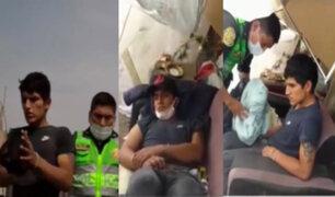 Ladrón fingió ser un drogadicto para evitar ser detenido en Surco