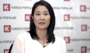 Elecciones 2021: Poder Judicial autorizó a Keiko Fujimori viajar al interior del país
