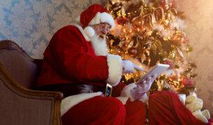 Papá Noel por videollamada: una modalidad que se extiende en tiempos de pandemia