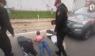 Callao: capturan a peligrosa banda de raqueteros integrada por menores de edad