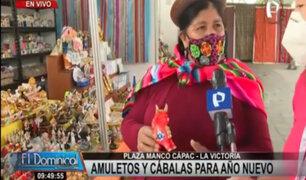 Feria de los Deseos en Plaza Manco Cápac: cábalas y amuletos para la buena suerte el 2021