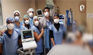 """INSN de San Borja: médicos salvan a menor con técnica """"Ecmo"""""""
