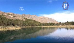 """Paraíso natural en Huari: conozca la mágica """"Laguna azul"""""""