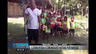 """Llevan ayuda a comunidades nativas """"Kukama"""", """"Bora"""" y """"Uros"""" por Navidad"""