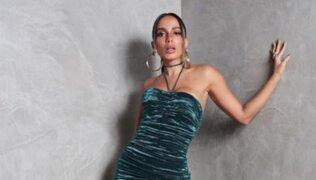 Anitta celebra su participación en la fiesta de Año Nuevo en Times Square