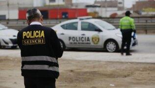 Comas: Policía abatió a presunto delincuente durante balacera
