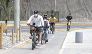 ¡No bajemos la guardia ante la Covid-19!: ciclistas promueven campaña para prevenir contagios