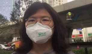 Mujer es condenada a 4 años de cárcel por sus reportajes sobre la Covid-19 en Wuhan