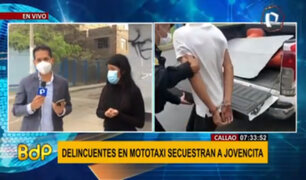 Callao: PNP capturó a dos delincuentes venezolanos que secuestraron a una joven