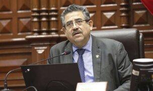 """Merino sobre vocería de Acción Popular: """"En ningún momento he manifestado mi intención"""""""