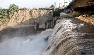 Alerta en varios distritos por aumento en el caudal del río Rímac