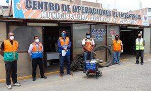 MML entrega motobombas a Chosica y Chaclacayo para atender caída de huaicos