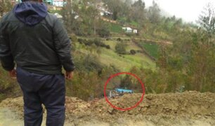 Tragedia en Pasco: padre e hijos mueren tras caer camioneta  a abismo