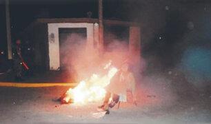 Magdalena: multarán con 1,705 soles a personas que quemen muñecos en la calle
