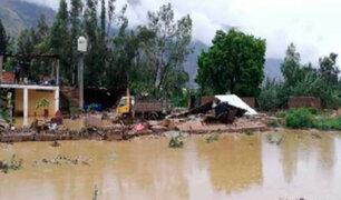 Desborde del río Santa Martha afectó a más de 60 viviendas en Huánuco