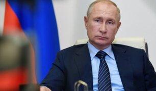 """Putin: Occidente """"lamentará"""" provocación a Rusia """"como hace mucho no lo hacen"""""""