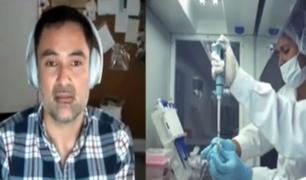 Investigador peruano pide financiamiento para sistema de vigilancia genómica de la Covid-19