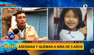 Padre de familia busca justicia por el asesinato de su menor hija