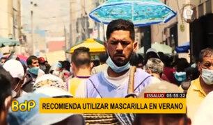 Verano 2021: EsSalud brinda recomendaciones sobre el uso de la mascarilla