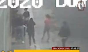 Cercado de Lima: madre pide ayuda tras ser víctima de salvaje ataque grupal
