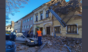 Pánico por terremoto de 6.2 en Croacia: informaron de muertos, heridos y desaparecidos