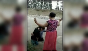 Río Rímac: rescatan a mujer que casi muere arrastrada por las aguas cuando se bautizaba