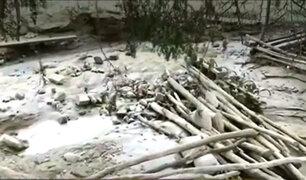 Huaico bloquea carretera que conecta Ica con Huancavelica y deja aisladas a 100 familias