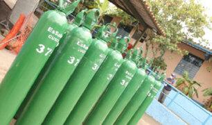La Libertad: envían más de 200 balones de oxígeno para abastecer a distintos hospitales